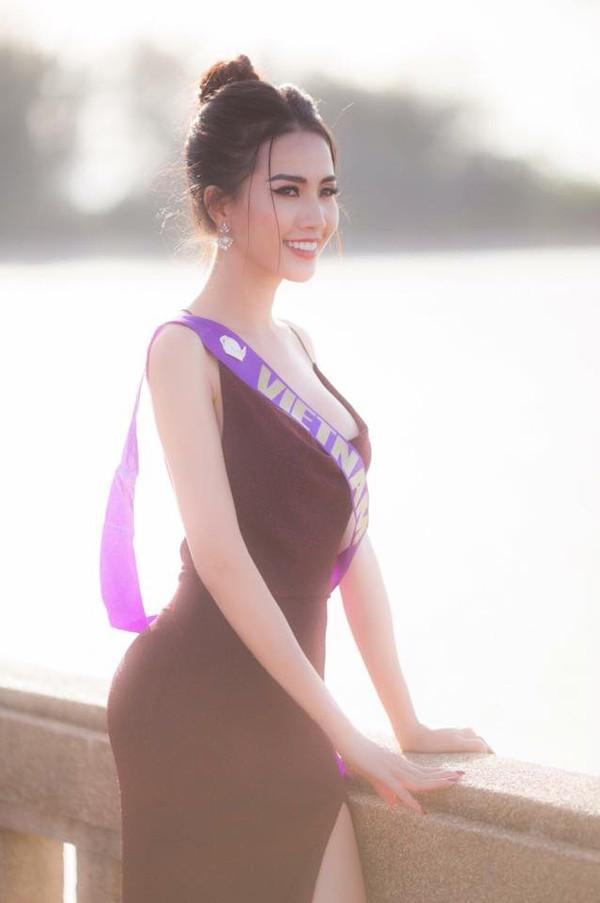Phan Thị Mơ đang sở hữu một gương mặt sáng cùng chiều cao 1m72, cân nặng 48 kg cùng với số đo ba vòng 80-62-87. Cô cũng hứa hẹn sẽ là một đối thủ nặng ký ở cuộc thi Hoa hậu châu Á ở Mỹ 2011. .