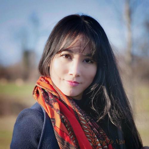 Chị Đặng Tố Nga là giảng viên Đại học Kiến trúc Hà Nội và đang nghỉ 2 năm để hoàn thành các nghiên cứu tại Italy. Ảnh: NVCC.