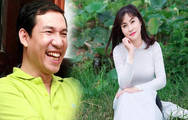 Quang Thắng luôn tự hào vì vợ trẻ xinh đẹp lại đảm đang.