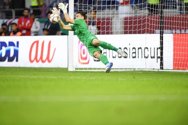 Đặng Văn Lâm đã có một trận đấu xuất sắc vào tối 24/1.