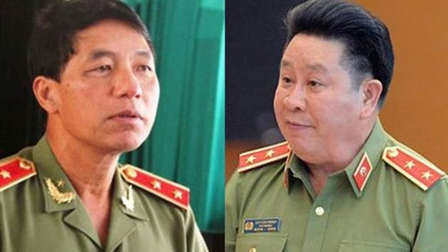 Hai cựu Thứ trưởng Bộ Công an dính chàm trong vụ Vũ nhôm.