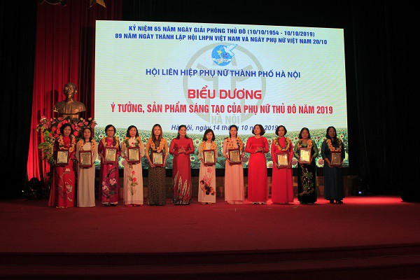 Ngày hội phụ nữ Thủ đô sáng tạo khởi nghiệp: Lan tỏa thông điệp sáng tạo của phụ nữ - Ảnh 2.
