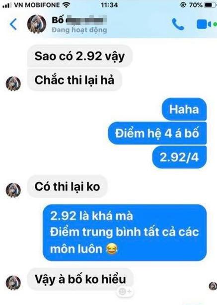 ĐH Công nghệ TP.HCM báo điểm cho phụ huynh, sinh viên bị mắng oan - Ảnh 2.