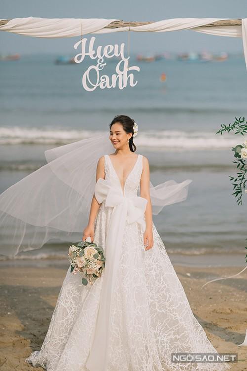 Ảnh cưới của nàng thơ xứ Huế Kiều Oanh - Ảnh 4.