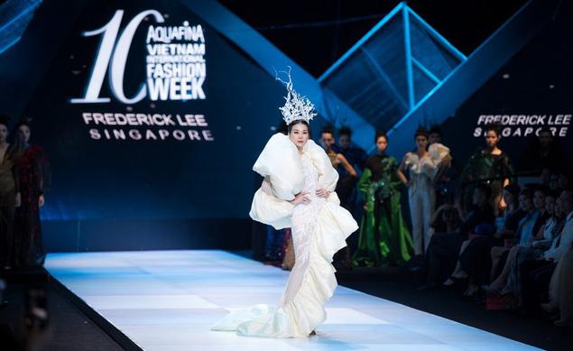 Dàn người đẹp nổi tiếng mở màn tuần lễ thời trang ở Hà Nội - Ảnh 7.