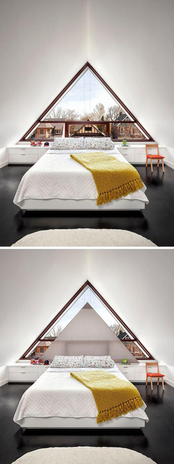 Mẫu nhà mái tam giác 2 tầng đẹp long lanh với chi phí thấp - Ảnh 3.