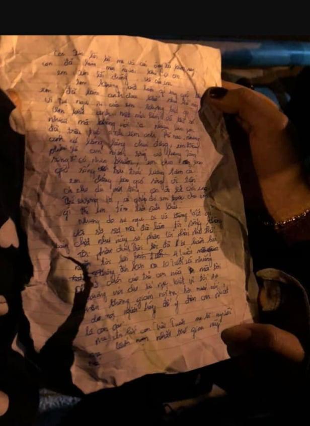Hải Phòng: Để lại lá thư tuyệt mệnh, mẹ ôm con nhảy cầu - Ảnh 2.