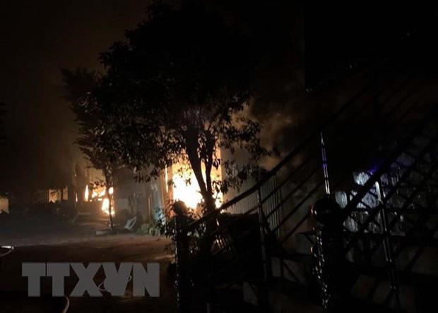 Cháy nhà trong đêm xem chung kết U22, gia đình trẻ 4 người thiệt mạng - Ảnh 1.