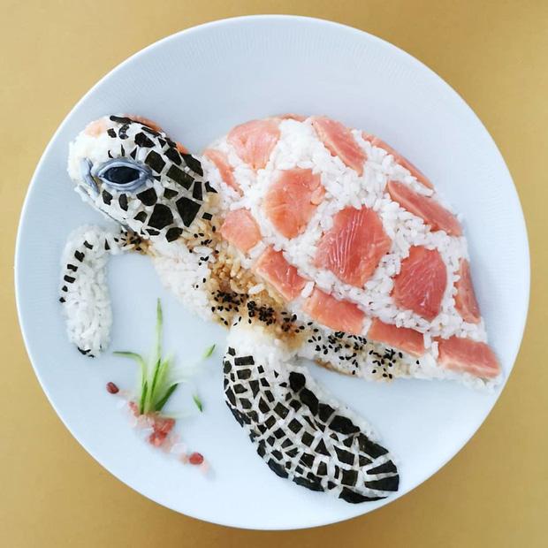 Ngỡ ngàng với những món ăn được trang trí đỉnh cao như nghệ thuật - Ảnh 1.