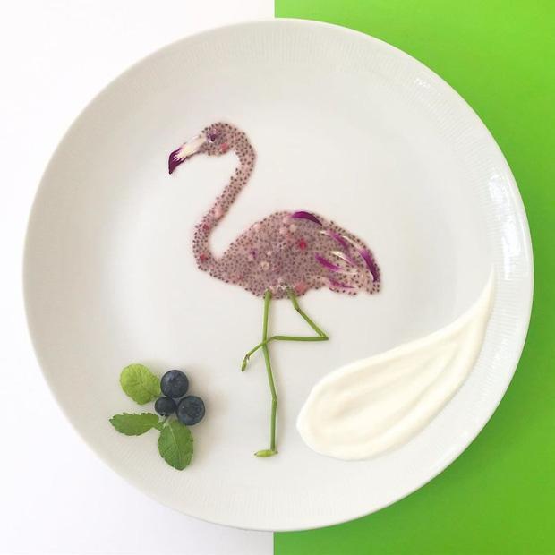 Ngỡ ngàng với những món ăn được trang trí đỉnh cao như nghệ thuật - Ảnh 14.