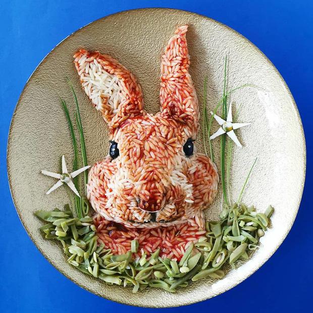 Ngỡ ngàng với những món ăn được trang trí đỉnh cao như nghệ thuật - Ảnh 5.