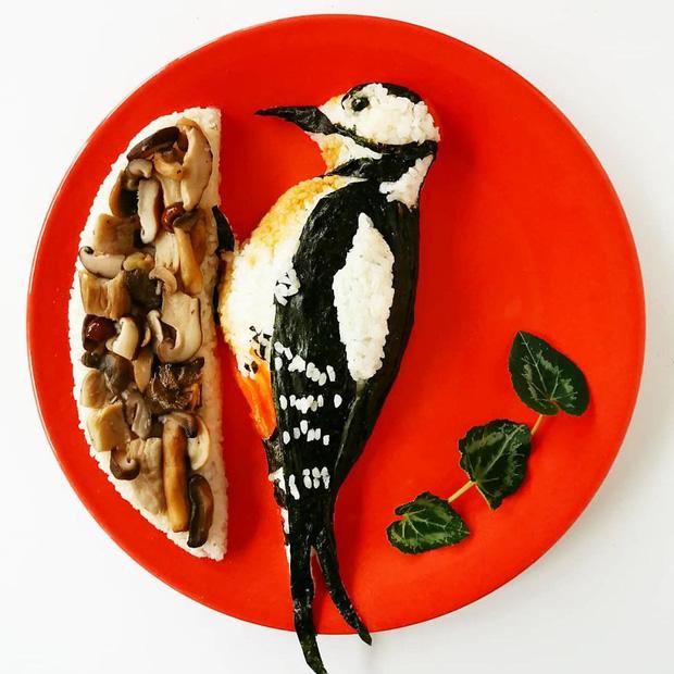 Ngỡ ngàng với những món ăn được trang trí đỉnh cao như nghệ thuật - Ảnh 6.