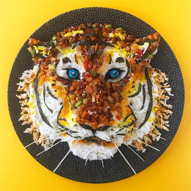 Ngỡ ngàng với những món ăn được trang trí đỉnh cao như nghệ thuật - Ảnh 9.