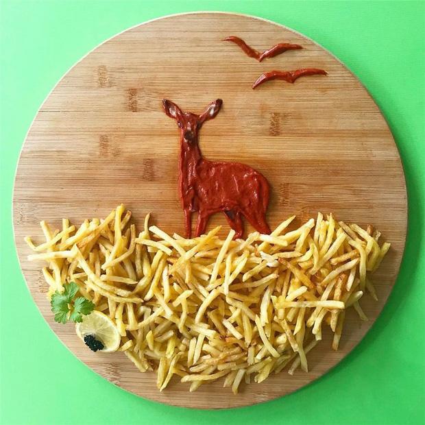 Ngỡ ngàng với những món ăn được trang trí đỉnh cao như nghệ thuật - Ảnh 10.