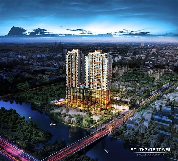 Southgate Tower là một trong số ít dự án sở hữu khu đất trung tâm Nam Sài Gòn