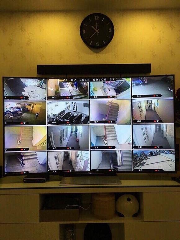 Căn nhà có hệ thống camera an ninh rất an toàn cho người ở.