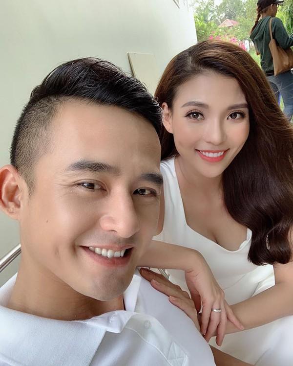 Vợ chồng Thuý Diễm - Lương Thế Thành thường xuyên đóng cặp trên truyền hình.