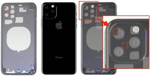 iPhone XI lộ diện qua thiết kế của bộ khung.