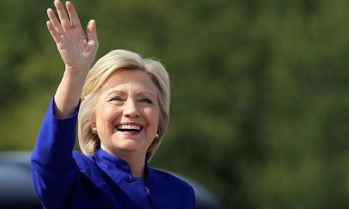 Cựu ngoại trưởng Mỹ Hillary Clinton. Ảnh: Reuters.