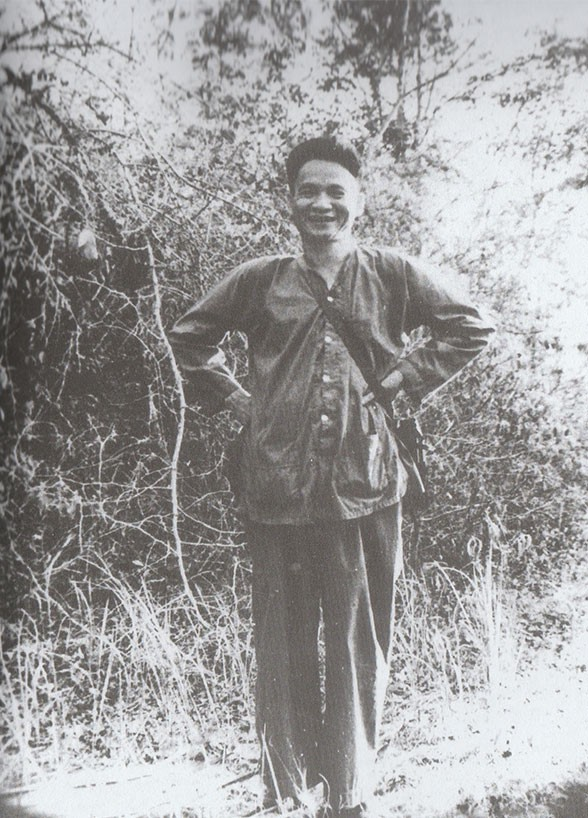Đồng chí Lê Đức Anh trong thời gian công tác tại chiến trường miền Nam mang bí danh Sáu Nam. Ảnh: Tư liệu