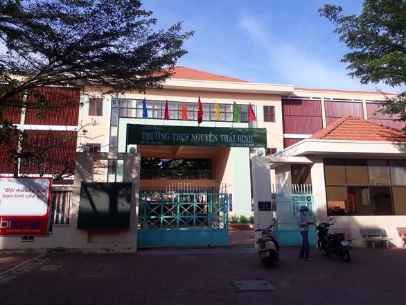 Sở GD&ĐT tỉnh Bà Rịa - Vũng Tàu yêu cầu Trường THCS Nguyễn Thái Bình giải trình thông tin một lớp có 42/43 học sinh giỏi. Ảnh: đông hà
