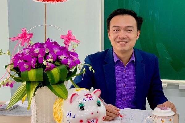 Thầy Trần Mạnh Tùng, giáo viên Toán trường THPT Dân lập Lương Thế Vinh, Hà Nội.
