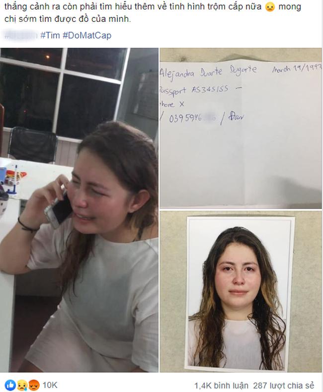 Bài viết của cô gái ngoại quốc mất túi xách khi đi du lịch được dân mạng xôn xao bình luận.