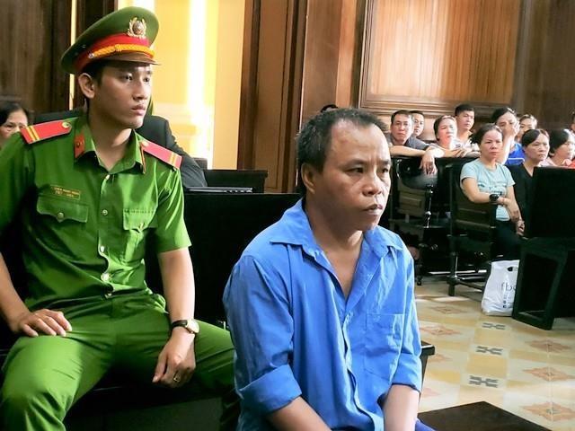 Bị cáo Nguyễn Dác Thương. Ảnh: Thiên Di.
