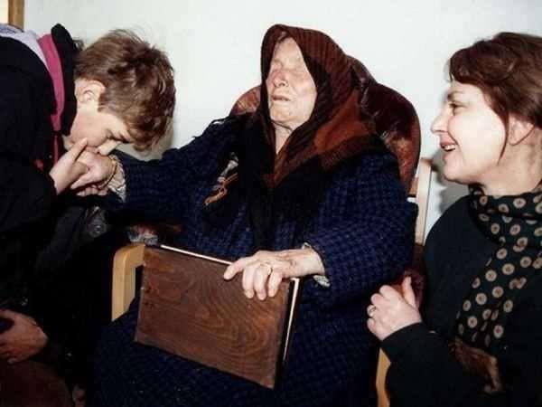 Nhà tiên tri mù Baba Vanga, người nổi danh với những tiên đoán bà sau này cả sau khi đã mất. Ảnh: T.L