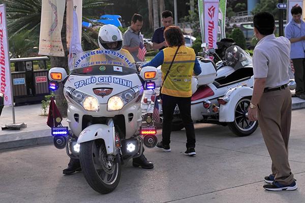 Rất nhiều các tay lái đã vượt gần 2.000 km để tham dự đại hội.