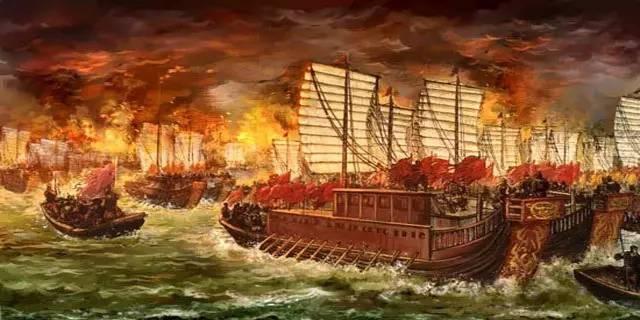Ghi chép lịch sử về việc Khổng Minh Gia Cát Lượng mượn gió đông để thắng trận Xích Bích vẫn là một huyền thoại. Ảnh: T.L