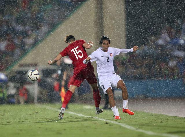 U23 Myanmar khởi đầu tốt hơn ở hiệp 2 nhờ thể lực dồi dào