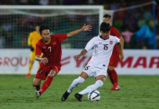 U23 Myanmar không tạo ra được nhiều cơ hội ở trận đấu này