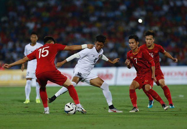 U23 Việt Nam đang chơi áp đảo hơn về thế trận