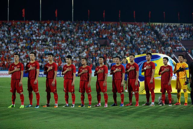 U23 Việt Nam thể hiện sự quyết tâm trước trận đấu
