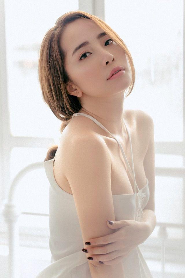 Quỳnh Nga khẳng định, ngoài đời cô chưa bao giờ và không bao giờ làm người thứ 3. (Ảnh: Phạm Quang Minh).