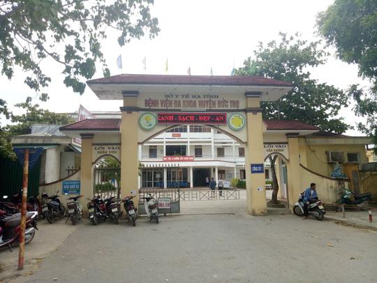 Bệnh viện Đa khoa huyện Đức Thọ.