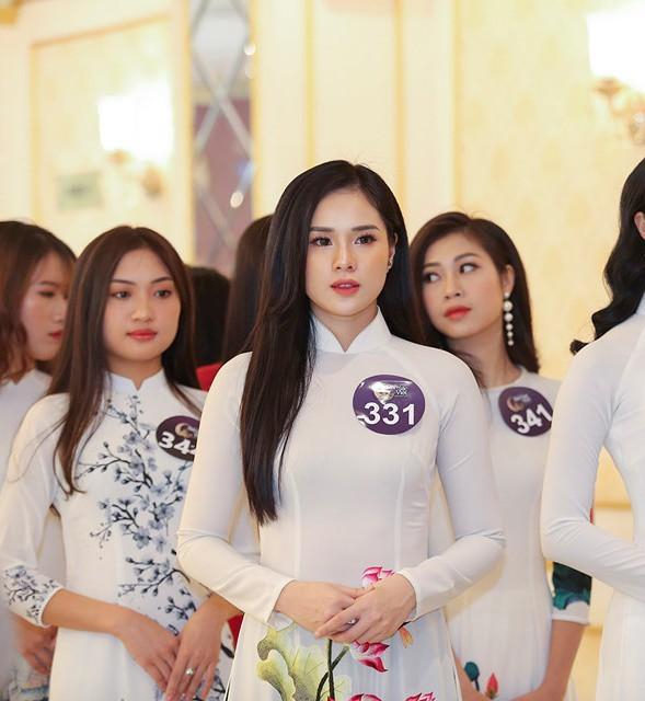Bạn gái cầu thủ Trọng Đại 6 lần thi Hoa hậu để kiếm nhiều tiền như Phạm Hương - Ảnh 6.