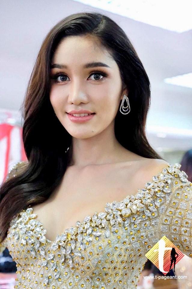 Dear Ritai Pryasiyong sở hữu nhan sắc ngọt ngào thu hút người đối diện.
