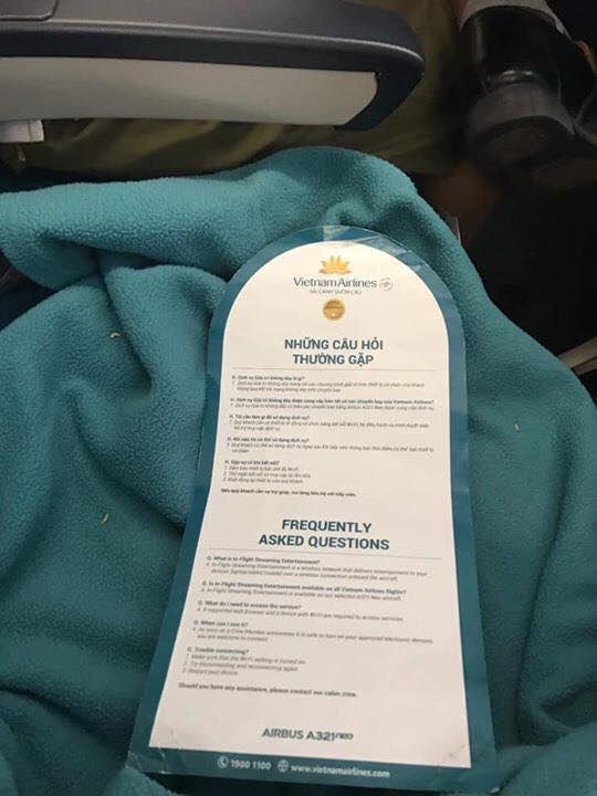 """VietNam Airlines thông tin chính thức vụ việc hành khách """"tố"""" có dòi trong chăn trên chuyến bay - Ảnh 1."""