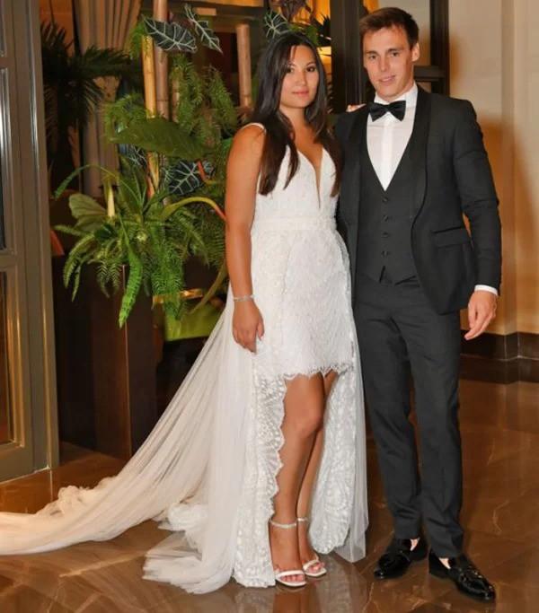 Đám cưới của cô gái mang dòng máu Việt với con trai công chúa Monaco - Ảnh 6.