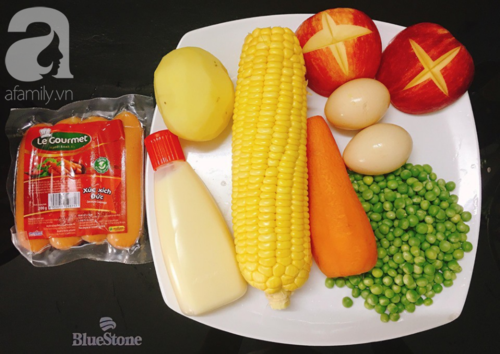 Cách làm salad Nga chuẩn ngon từ đầu bếp nhà hàng - Ảnh 1.