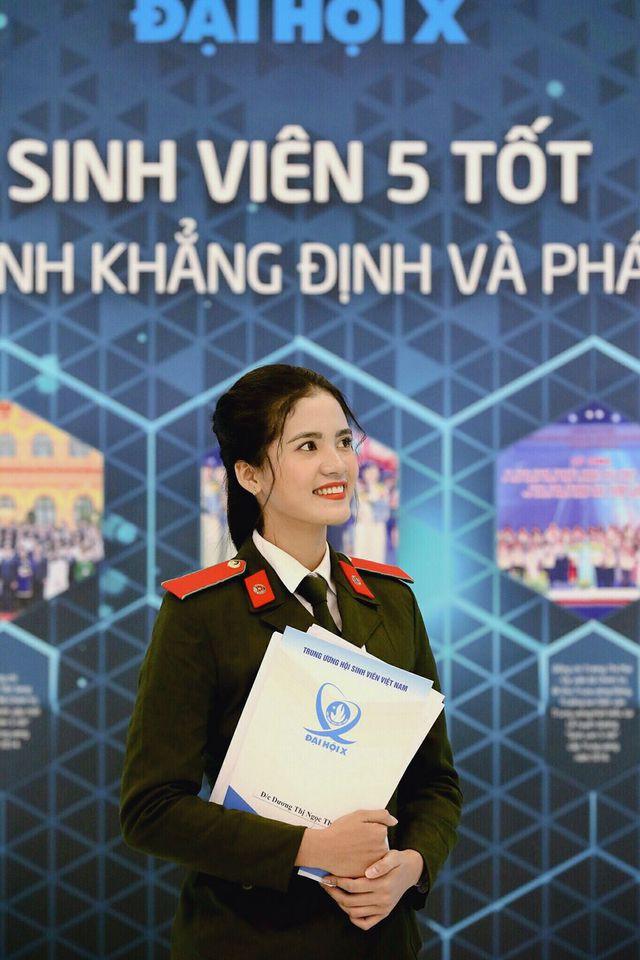 Hoa khôi Đại học An ninh hãnh diện vì có nét đẹp đặc trưng của người Khmer - Ảnh 1.