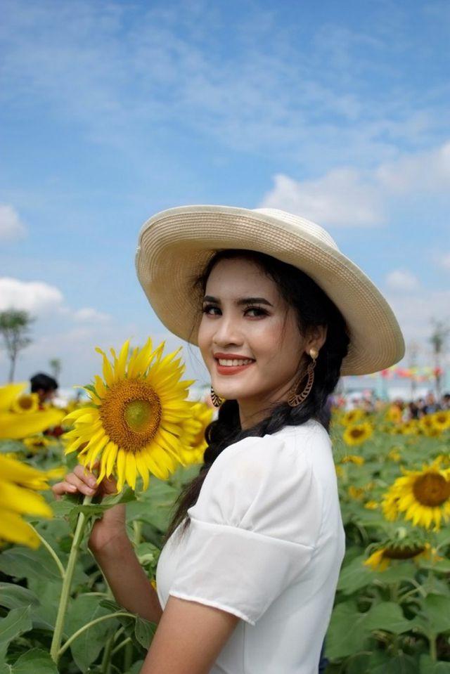 Hoa khôi Đại học An ninh hãnh diện vì có nét đẹp đặc trưng của người Khmer - Ảnh 8.