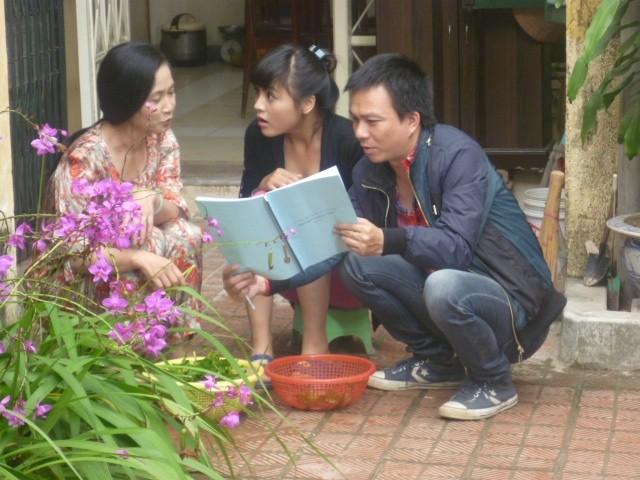 Mẹ chồng NSND Lan Hương: Bảo Thanh, Thu Quỳnh nhảy vọt trong Về nhà đi con - Ảnh 4.