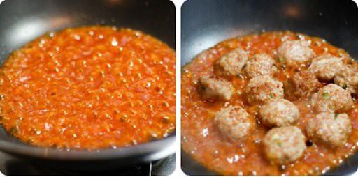 Công thức cho món thịt viên sốt cà chua cực ngon miệng  - Ảnh 4.