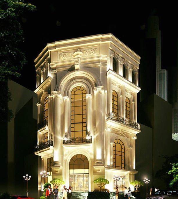 Bảo Thy sống như công chúa sang chảnh trong căn biệt thự cao 8 tầng, nhìn vào bên trong nội thất đẹp đến hoa mắt - Ảnh 1.