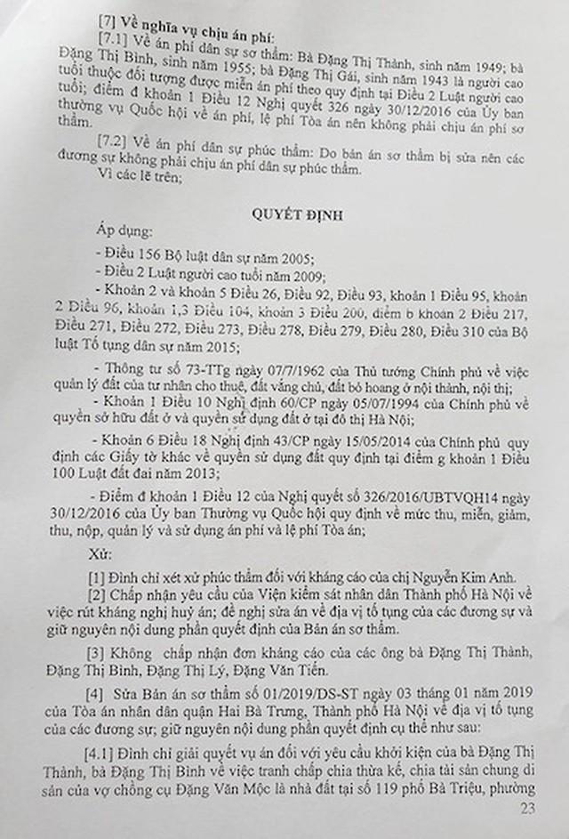 """Hà Nội: Cụ bà 77 tuổi """"cạn nước mắt"""" vì 1 văn bản của Phó chủ tịch quận sắp được chạm tay vào sổ đỏ - Ảnh 3."""