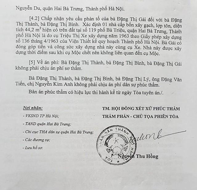 """Hà Nội: Cụ bà 77 tuổi """"cạn nước mắt"""" vì 1 văn bản của Phó chủ tịch quận sắp được chạm tay vào sổ đỏ - Ảnh 4."""