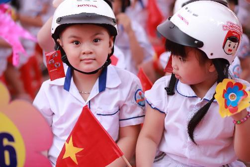 Honda Việt Nam trao tặng Mũ bảo hiểm cho học sinh lớp Một toàn quốc năm học 2019 – 2020 - Ảnh 5.
